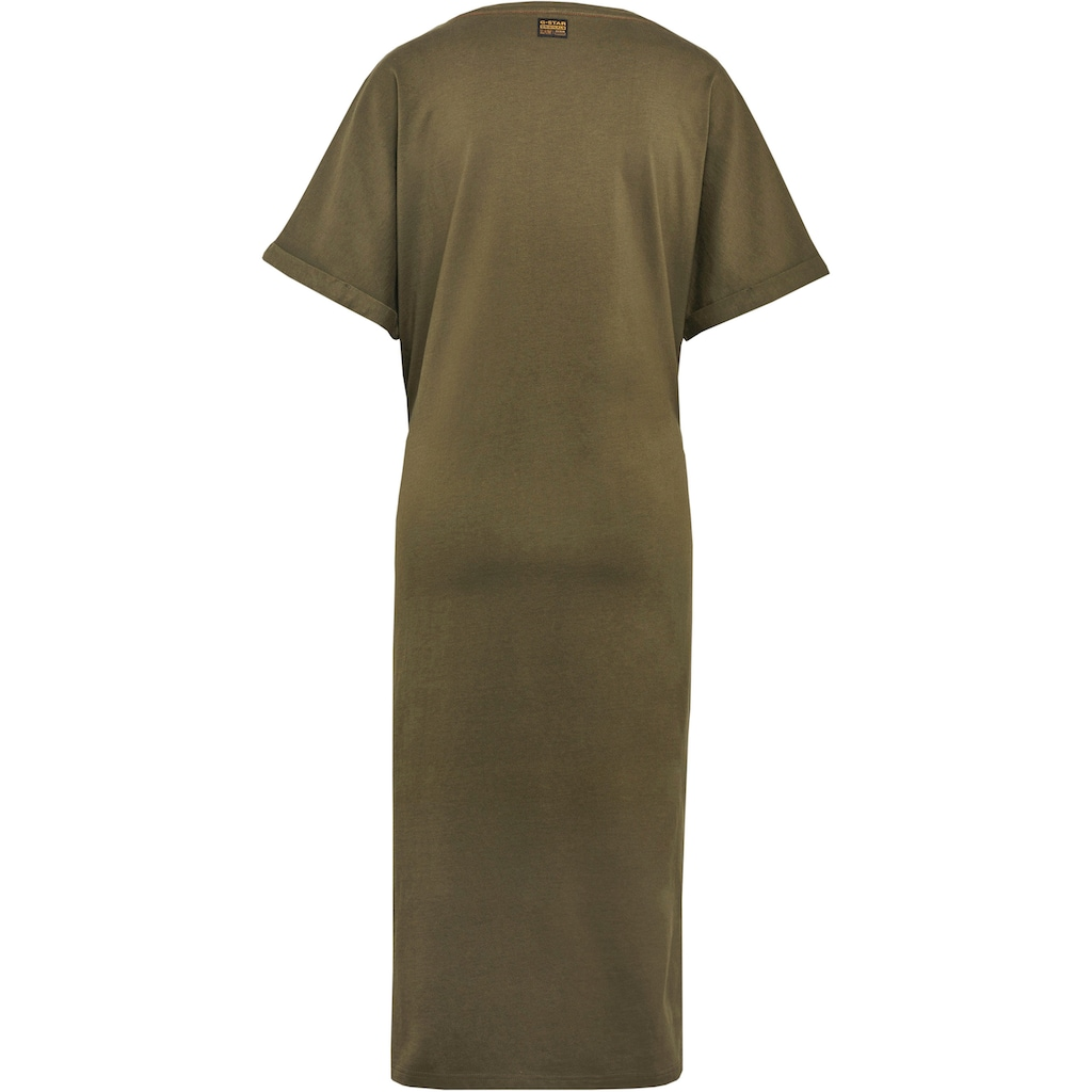 G-Star RAW Jerseykleid »Adjustable Waist Kleid«, mit Kordelzug an der Taille – verstellbar