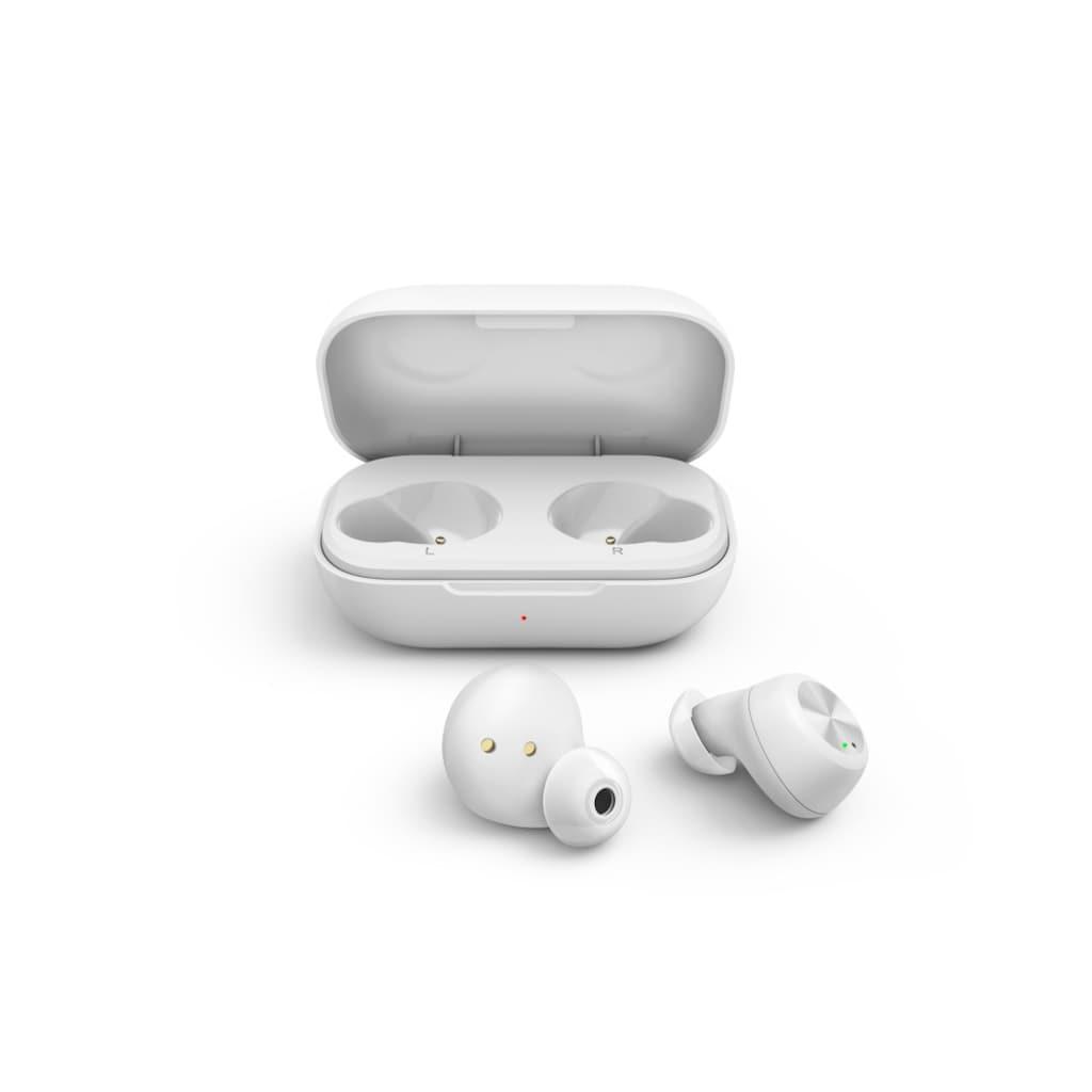 Thomson Bluetooth-Kopfhörer »Bluetooth Headset«, A2DP Bluetooth-Bluetooth-AVRCP Bluetooth-HFP, True Wireless-Sprachsteuerung, WEAR7701BK, True Wireless, Mikrofon