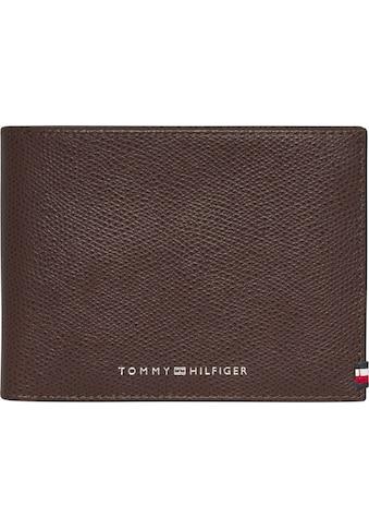 TOMMY HILFIGER Geldbörse »BUSINESS EXTRA CC AND COIN«, aus echtem Leder kaufen
