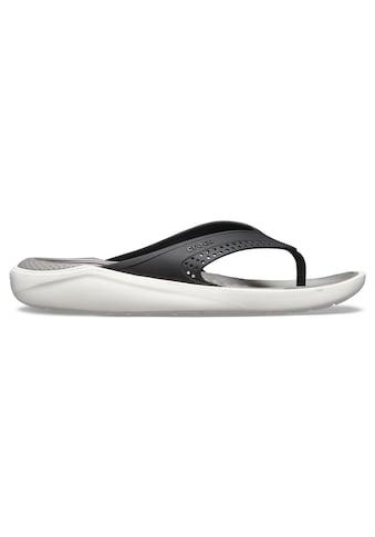 Crocs Zehentrenner »Lite Ride Flip«, mit leicht genoppter Decksohle kaufen
