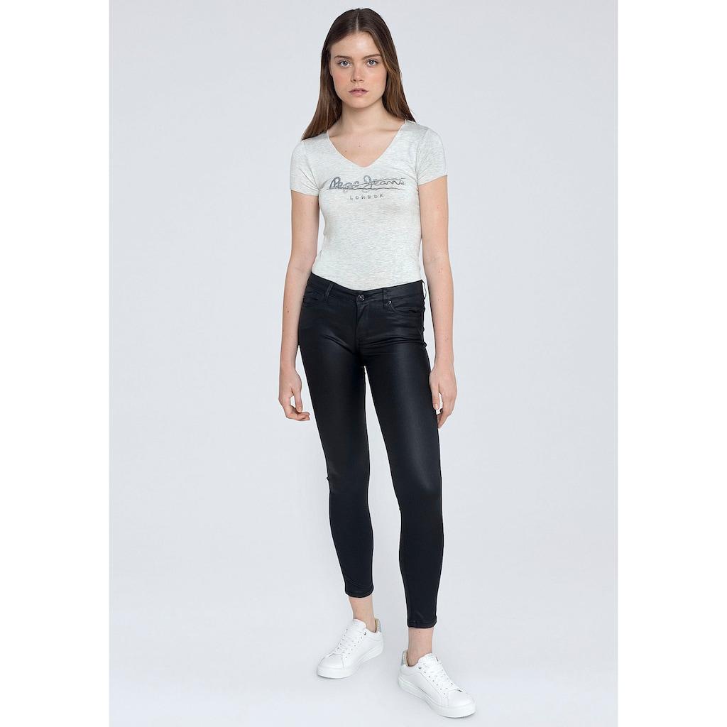 Pepe Jeans Skinny-fit-Jeans »PIXIE«, im 5-Pocket-Stil mit Stretch-Anteil und Logo-Stickerei