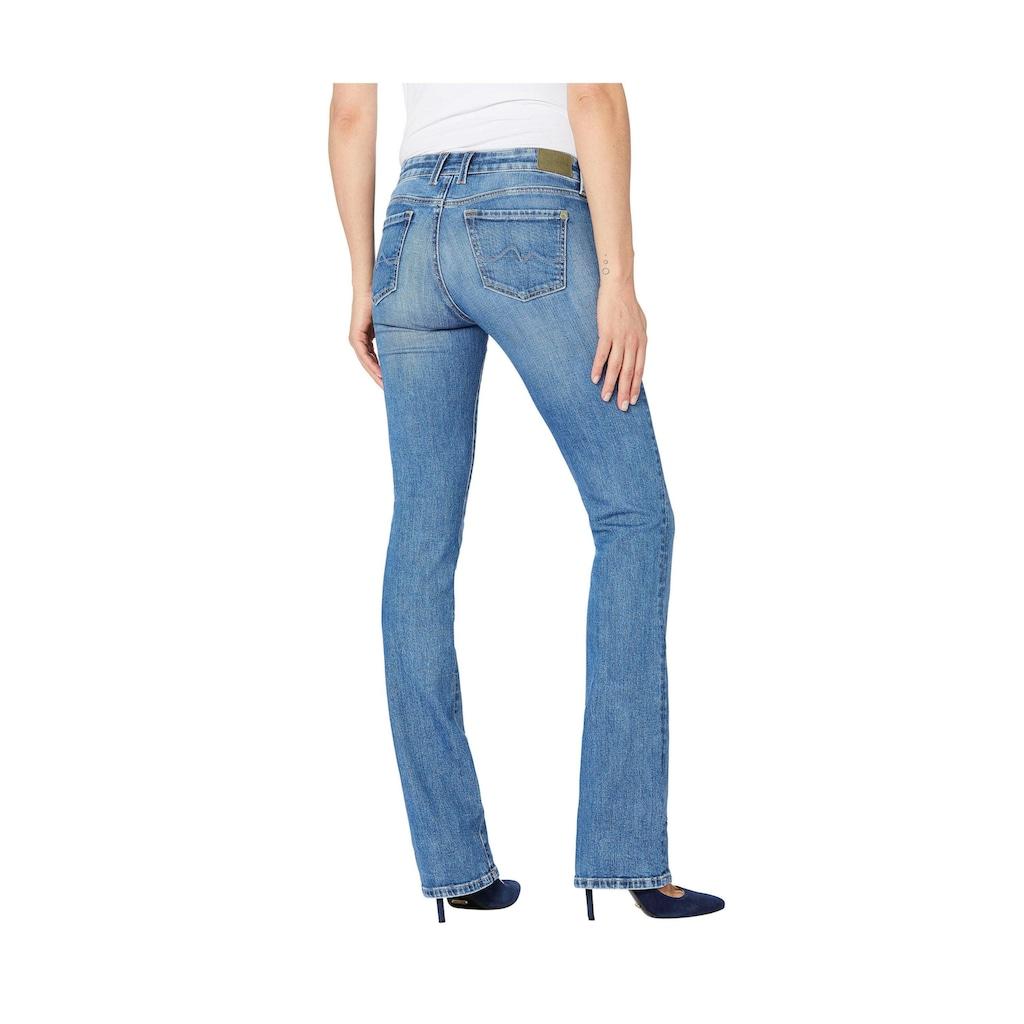 Pepe Jeans Bootcut-Jeans »PICCADILLY«, nachhaltig produziert mit WISER WASH®