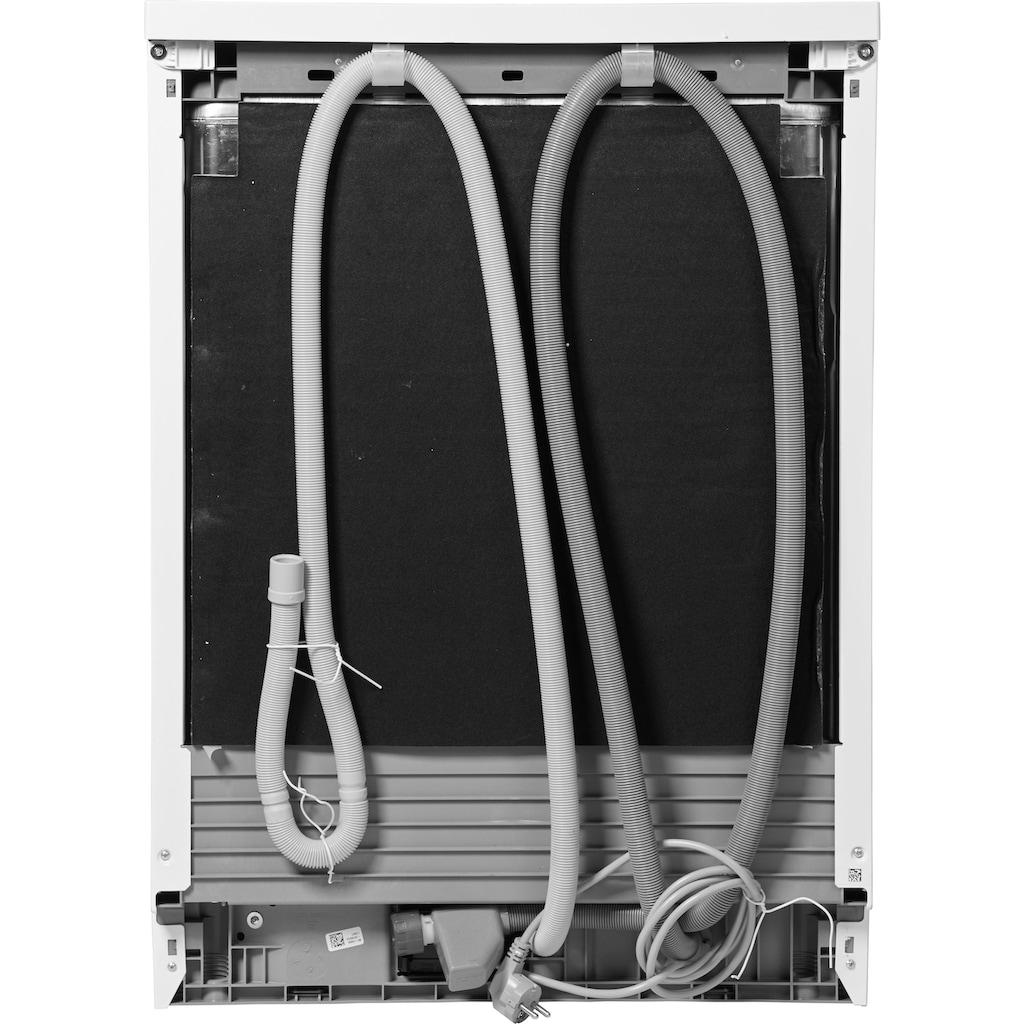 BEKO Standgeschirrspüler »DFN16430W«, DFN16430W, 14 Maßgedecke, mit Kontrollanzeige