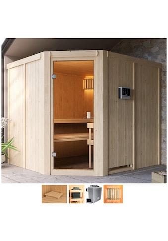 Karibu Sauna »Henrika«, 9-kW-Ofen mit ext. Steuerung kaufen
