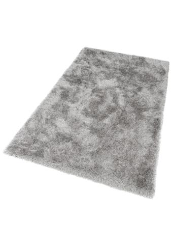 Hochflor - Teppich, »Glossy 411«, merinos, rechteckig, Höhe 70 mm, maschinell gewebt kaufen