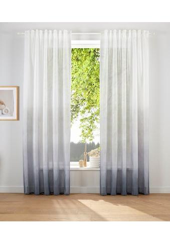 elbgestoeber Vorhang »Elbverlauf«, Schal mit verdeckten Schlaufen kaufen