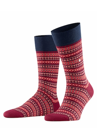 Burlington Socken »Country Fair Isle«, (1 Paar), mit wärmender Wirkung kaufen