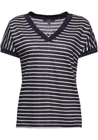 Esprit Collection V-Shirt, mit überschnittener Schulter kaufen