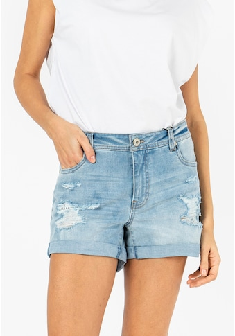 SUBLEVEL Jeansshorts, im Used-Look kaufen