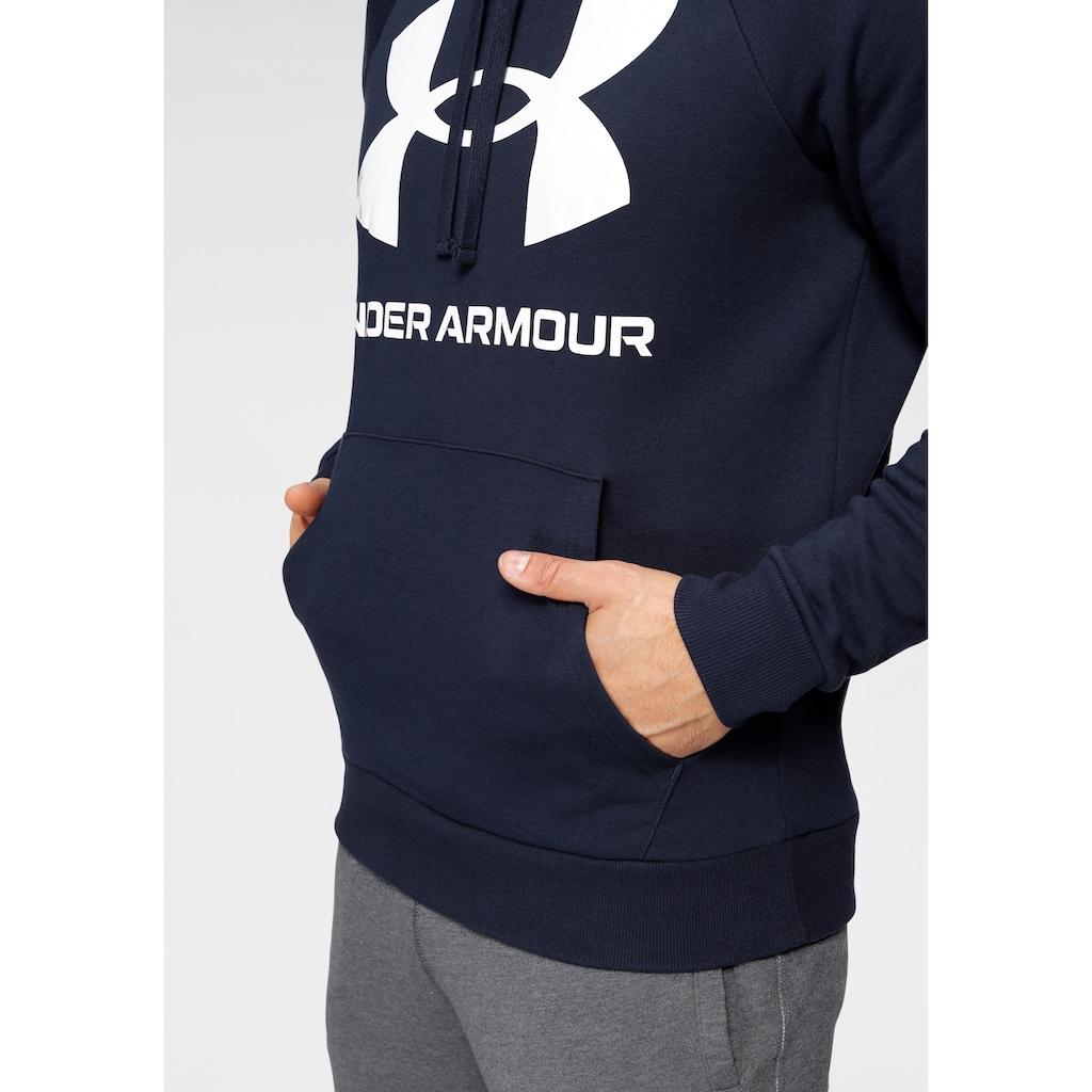 Under Armour® Kapuzensweatshirt »UA RIVAL FLEECE BIG LOGO HD«