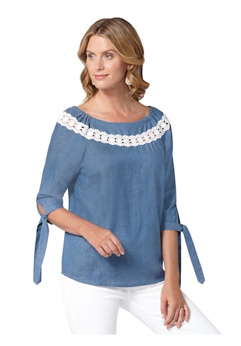 Ambria Bluse in Denim - Optik kaufen