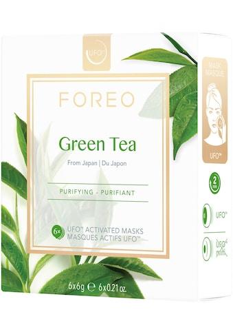 FOREO Tuchmaske »Green Tea«, 6 x 6 g, kompatibel mit UFO & UFO mini kaufen