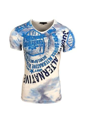 Rusty Neal T-Shirt mit auffälligem Print kaufen