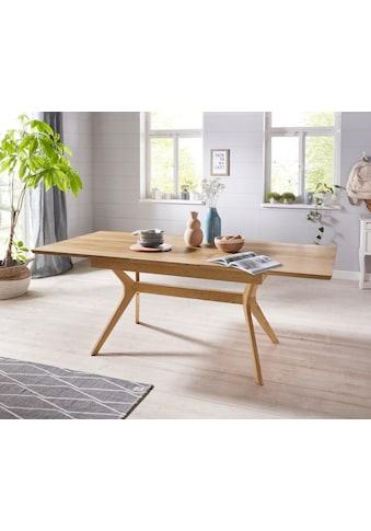 Premium collection by Home affaire Esstisch »Klara«, mit Auszugsfunktion (160 - 210... kaufen