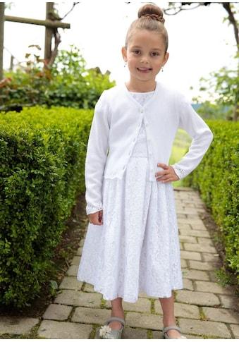 Kinder Kleid aus Spitze mit Satinband, Turi Landhaus kaufen