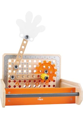 Hape Spielwerkzeugkoffer »Tüftler Werkzeugkasten«, (32 tlg.), aus Holz kaufen