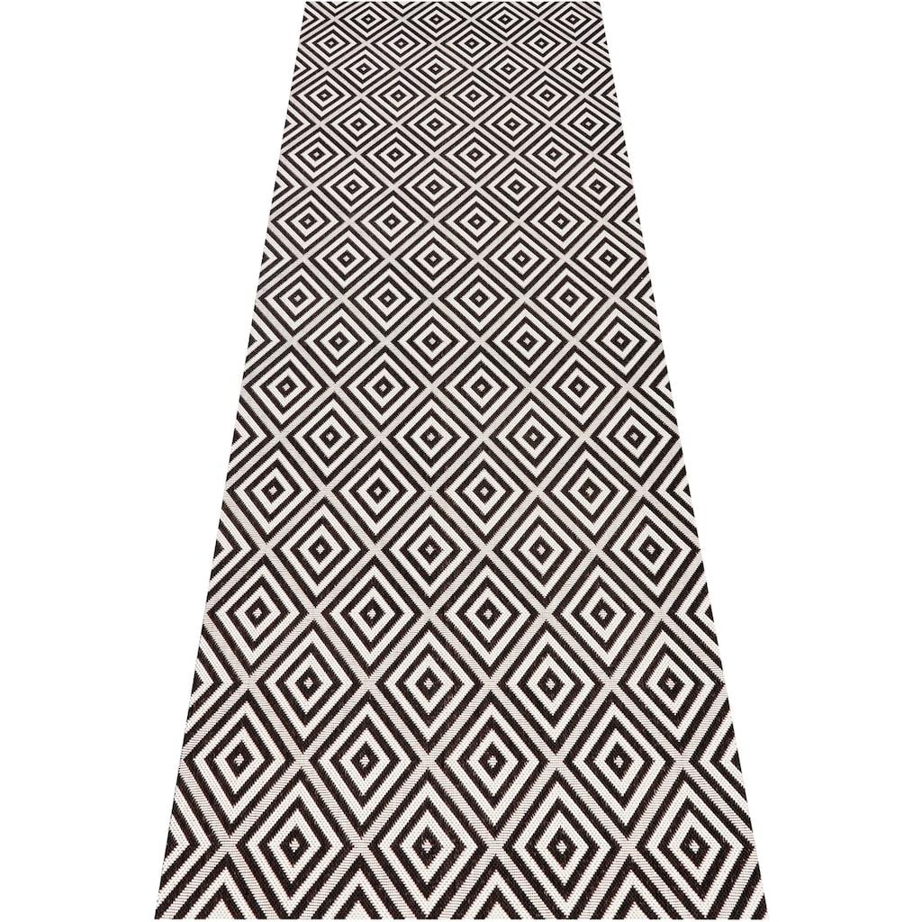 bougari Läufer »Karo«, rechteckig, 8 mm Höhe, Sisal-Optik, In- und Outdoorgeeignet
