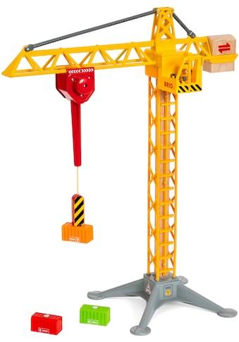 """BRIO® Spielzeug - Kran """"BRIO® WORLD Großer Baukran mit Licht"""" kaufen"""