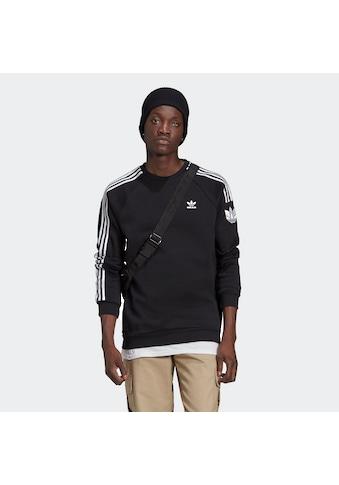 adidas Originals Langarmshirt »LOUNGEWEAR ADICOLOR 3D TREFOIL 3-STREIFEN« kaufen