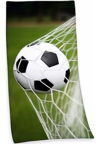 Herding Badetuch »Fußball«, (1 St.), mit Fußballmotiv kaufen