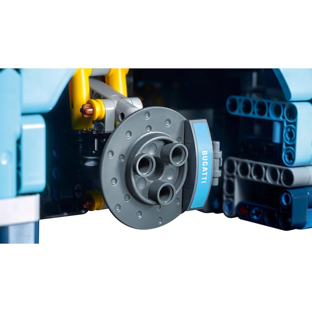LEGO® Konstruktionsspielsteine »Bugatti Chiron (42083), LEGO® Technic«, (3599 St.), Made in Europe