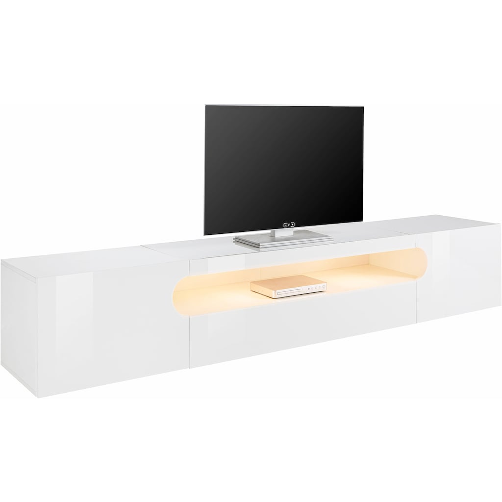 Tecnos Lowboard »Real«, Breite 240 cm