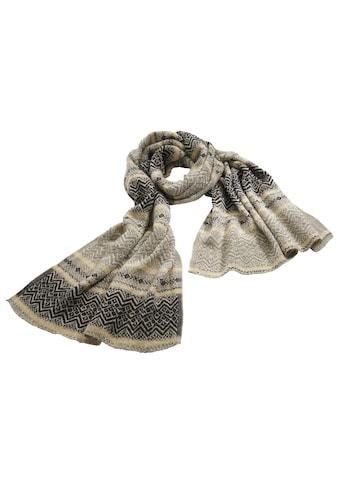 Schal in Jaquardmuster kaufen