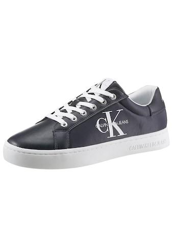 Calvin Klein Sneaker, Nylon Einsatz mit CK Logo kaufen