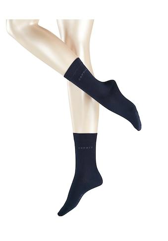Esprit Socken Uni 2 - Pack (2 Paar) kaufen