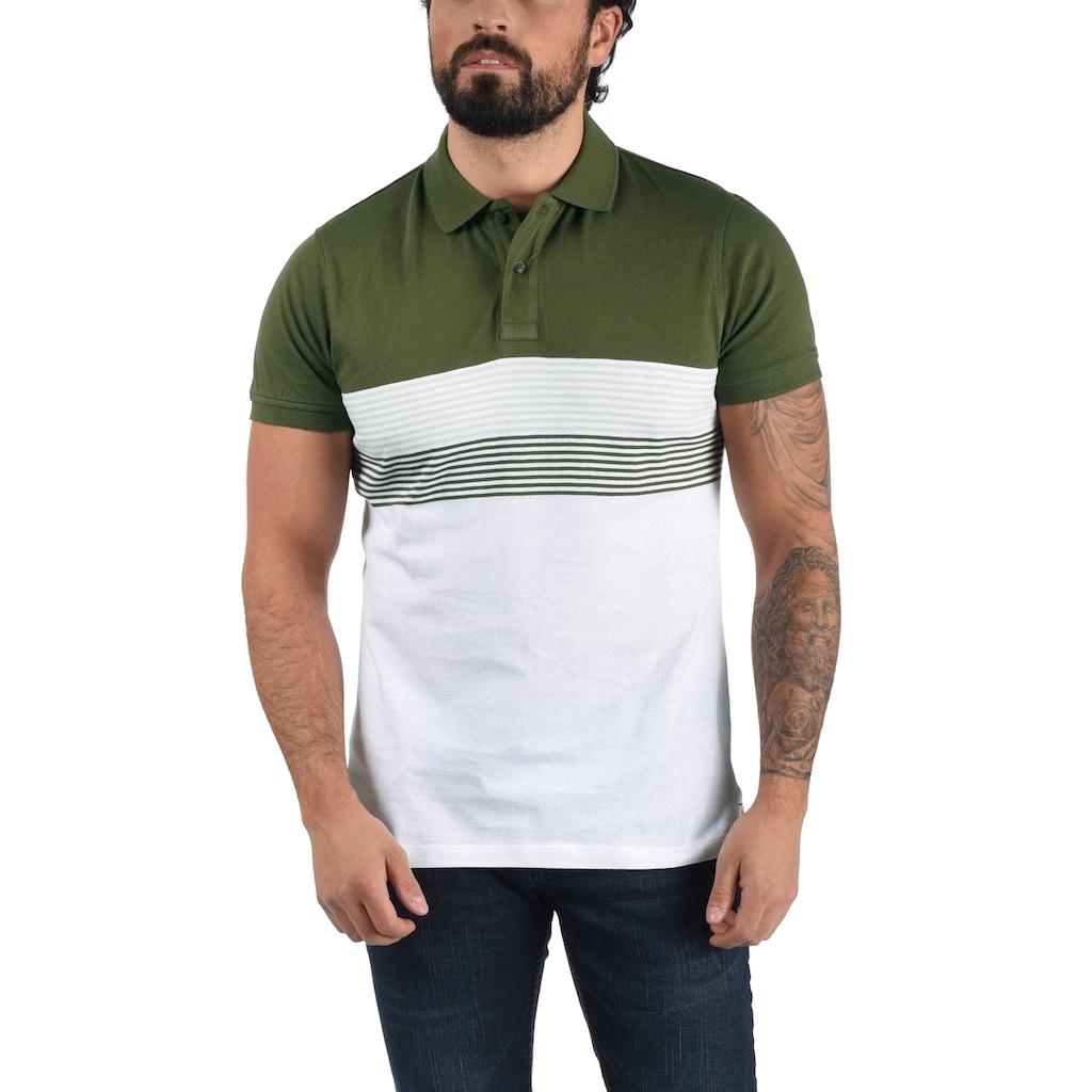 Blend Poloshirt »Fabi«, Polo in Colorblocking-Optik