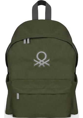 United Colors of Benetton Freizeitrucksack »Journey, army« kaufen