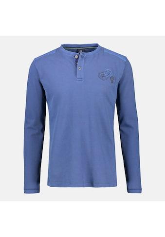 LERROS Sweatshirt »Serafino«, in Großen Größen, mit Knopfleiste kaufen