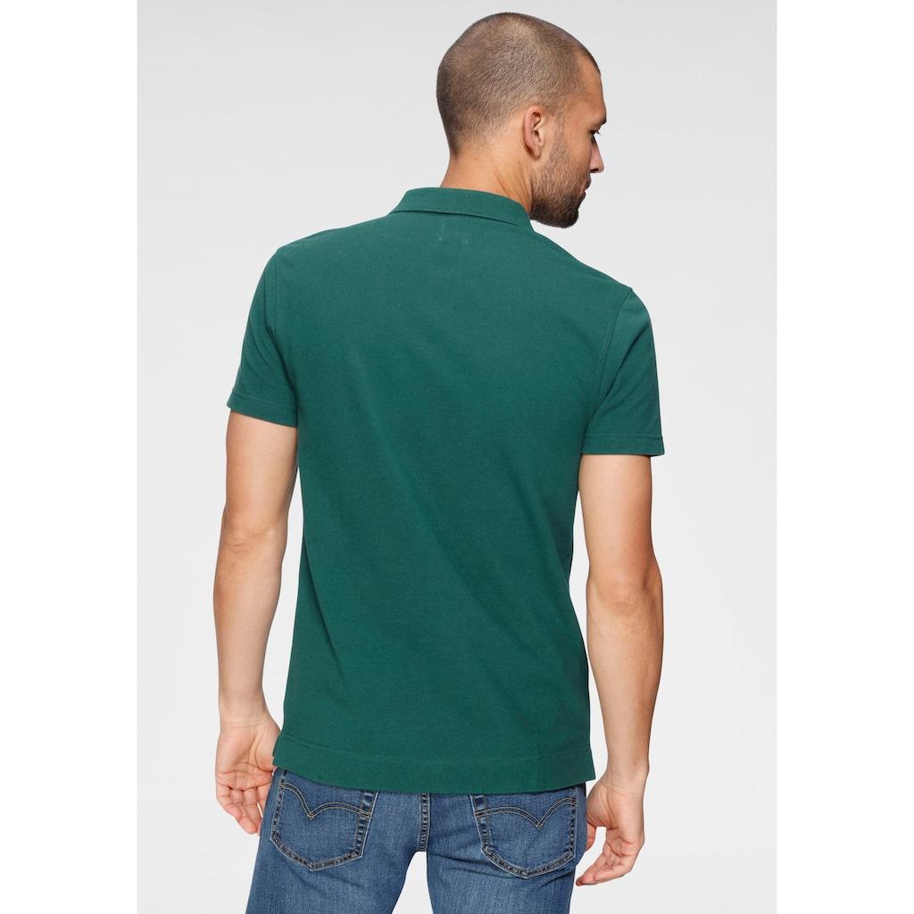 Levi's® Poloshirt, mit Logostickerei