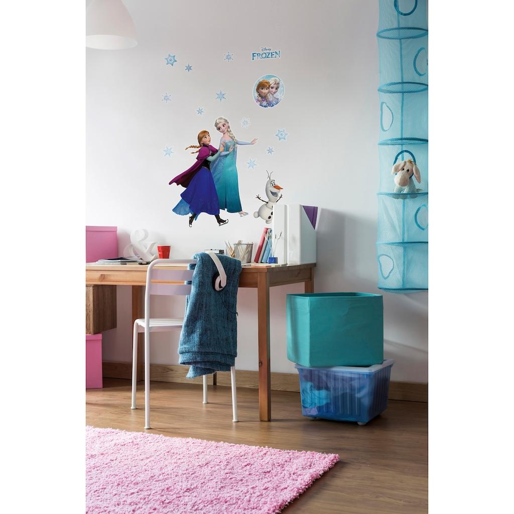Komar Wandtattoo »Anna und Elsa«, selbstklebend, rückstandslos abziehbar