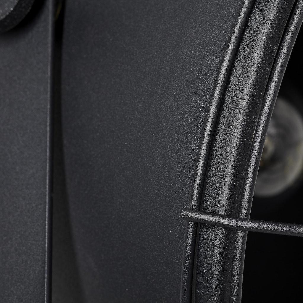 Brilliant Leuchten Stehlampe, E27, Jesper Standleuchte 39cm Gitter schwarz