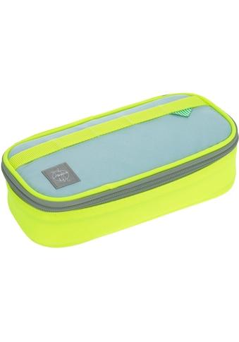 LÄSSIG Schreibgeräteetui »Unique Spacy, blue/neon-yellow«, PETA-approved vegan; aus... kaufen