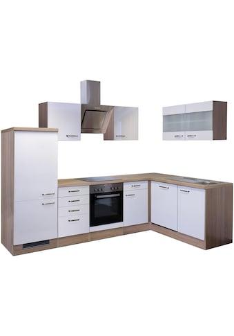 Flex-Well Winkelküche »Florenz«, mit E-Geräten, Breite 280 x 170 cm kaufen