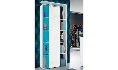 borchardt Möbel Standvitrine, mit seitlichem Regal, Höhe 189 cm kaufen