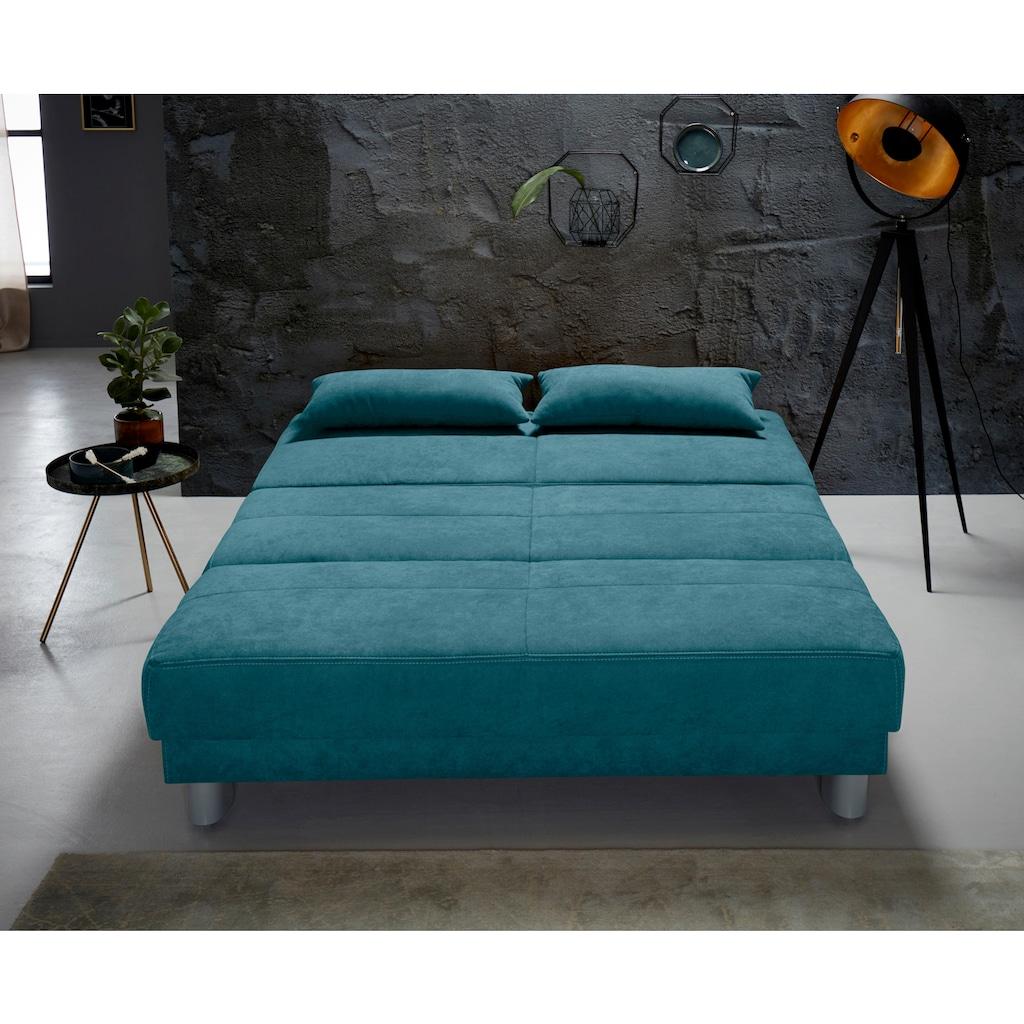 INOSIGN Schlafsofa »Gina«, mit einem Handgriff vom Sofa zum Bett