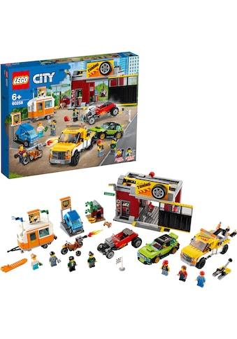 "LEGO® Konstruktionsspielsteine ""Tuning - Werkstatt (60258), LEGO® City Nitro Wheels"", Kunststoff, (897 - tlg.) kaufen"