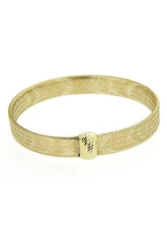 Firetti Goldarmband »Flexarmreif in Meshgliederung, poliert, Element spiegeldiamantiert« kaufen