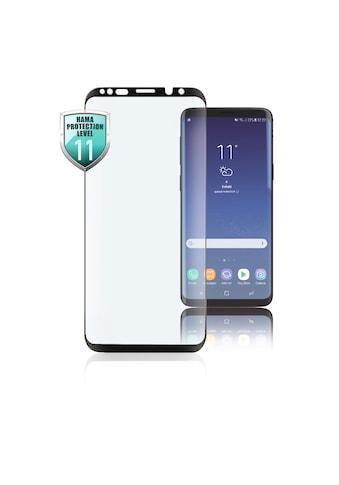 Hama 3D-Full-Screen-Schutzglas für Samsung Galaxy S9, Schwarz kaufen