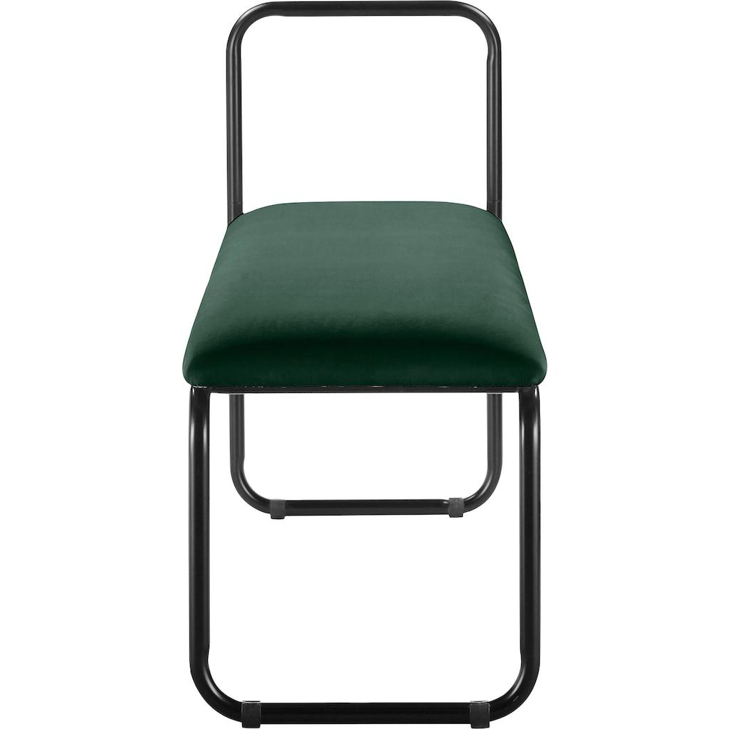 COUCH♥ Sitzbank »Privatbank«, gepolsterte Sitzfläche
