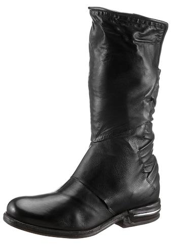 A.S.98 Stiefel »TEAL«, mit modischen Durchzügen, XS-Schaft kaufen