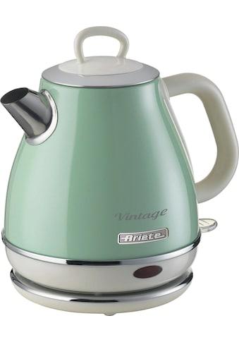 Ariete Wasserkocher »2868GR Vintage 1 L grün«, 1 l, 1630 W kaufen