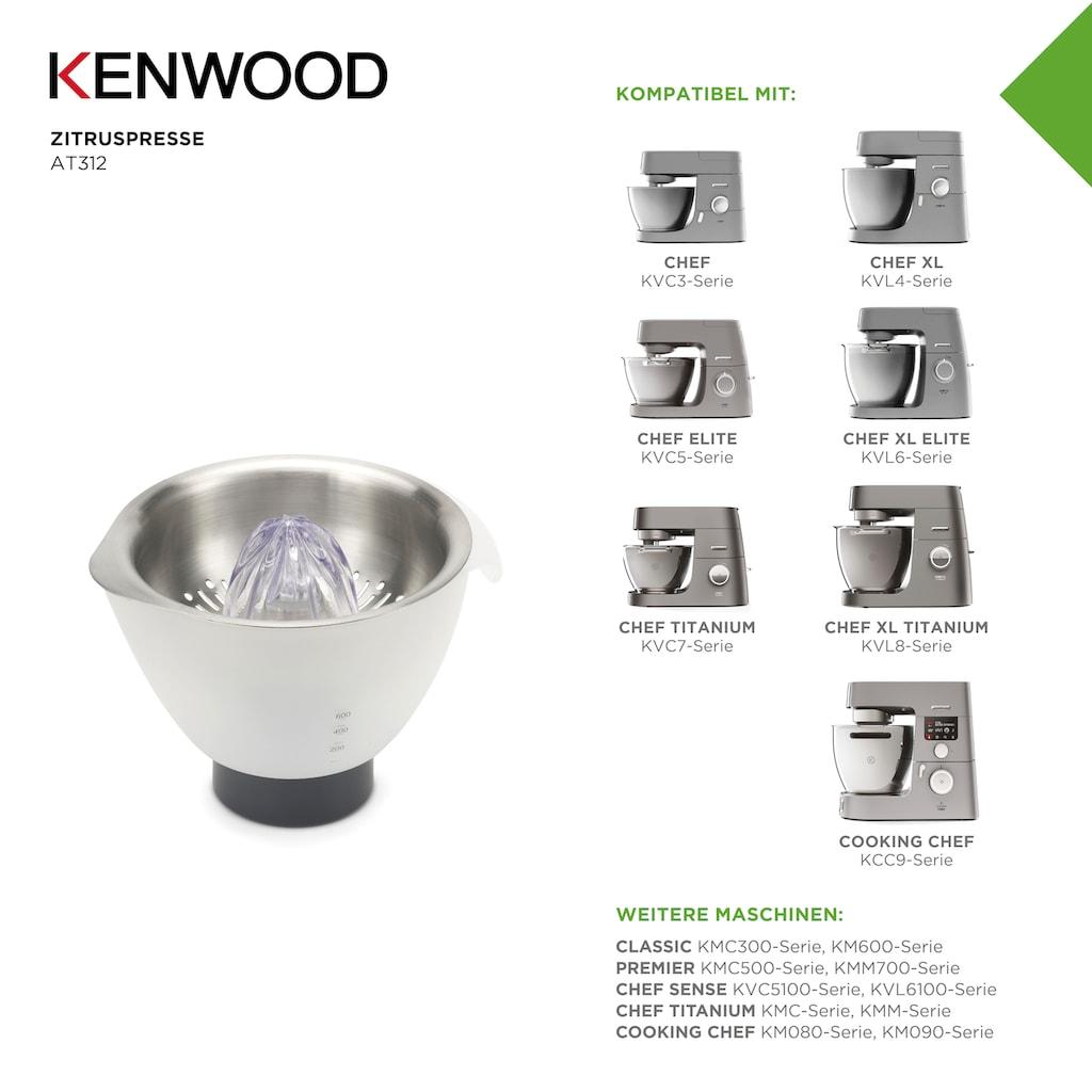 KENWOOD Zitruspressenaufsatz »AT312«