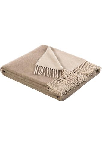 BIEDERLACK Plaid »Soft Impression«, aus einem Wolle-Kaschmir-Mix kaufen