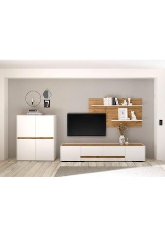 INOSIGN Wohnwand »CiTY Kombi 16«, (Set, 3 St.), Breite ca. 360 cm kaufen