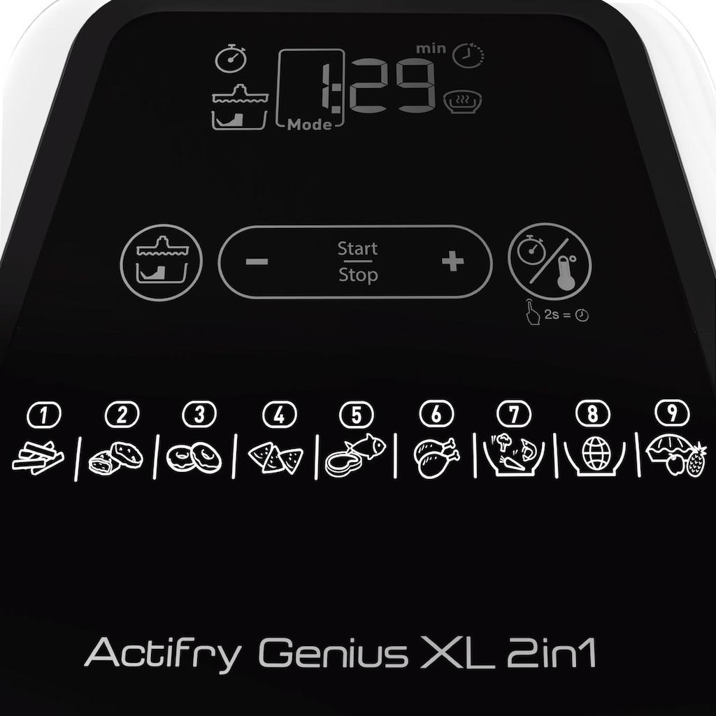 Tefal Heissluftfritteuse »YV9708 ActiFry Genius XL 2in1«, Fassungsvermögen 1,7 kg