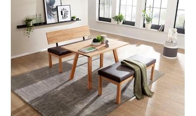 Essgruppe »Roberto«, Tisch-Platte massiv keilverzinkt kaufen